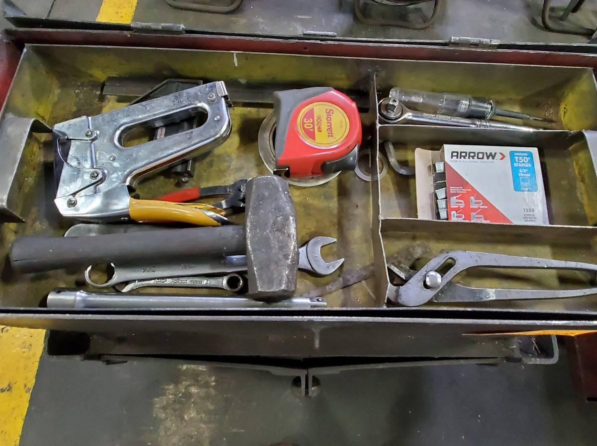 Lot 18 - Rolling 2-Door Toolbox