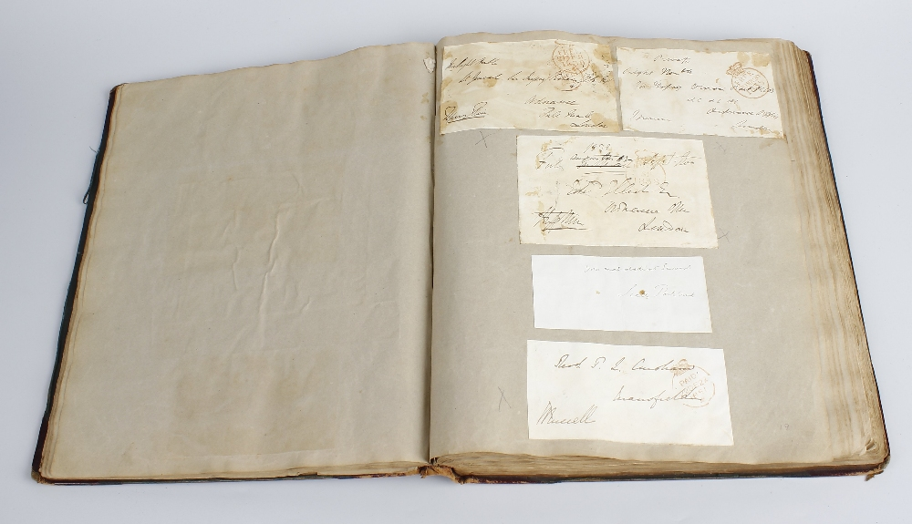 Lot 485 - An interesting collection of William IV postal ephemera To include envelopes and letterheads