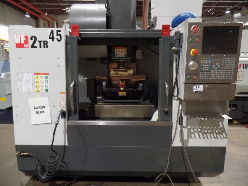 Haas VF-2 TR 5-Axis with Trunion Vertical Machining Center, Cat 40, 24 ATC, New 2017 - Image 3 of 9