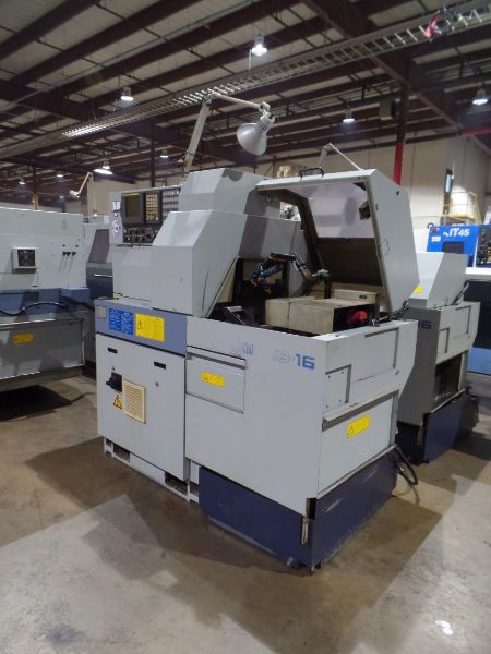 Star SB-16 CNC Swiss Type Automatic Lathe, Fanuc 18iTB Control, New 2004 - Image 2 of 8