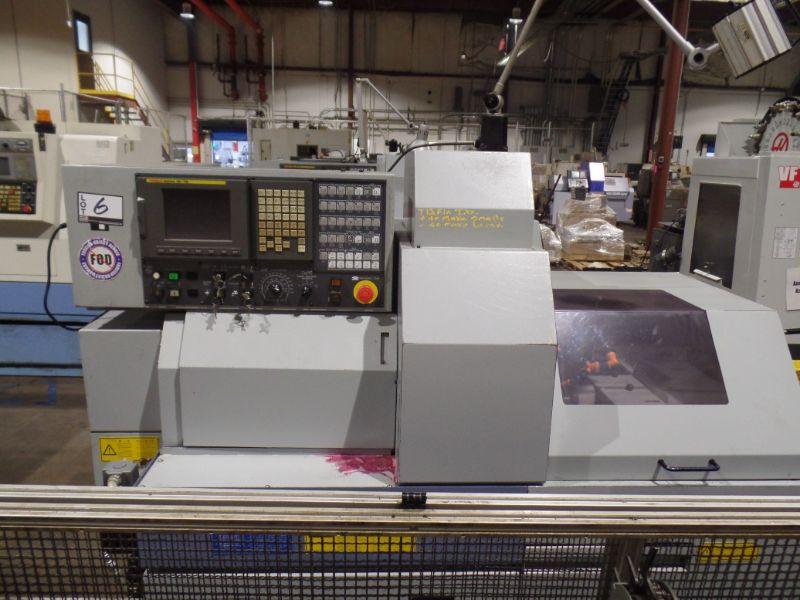Star SB-16 CNC Swiss Type Automatic Lathe, Fanuc 18iTB Control, New 2005