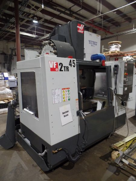Haas VF-2 TR 5-Axis with Trunion Vertical Machining Center, Cat 40, 24 ATC, New 2017 - Image 4 of 9