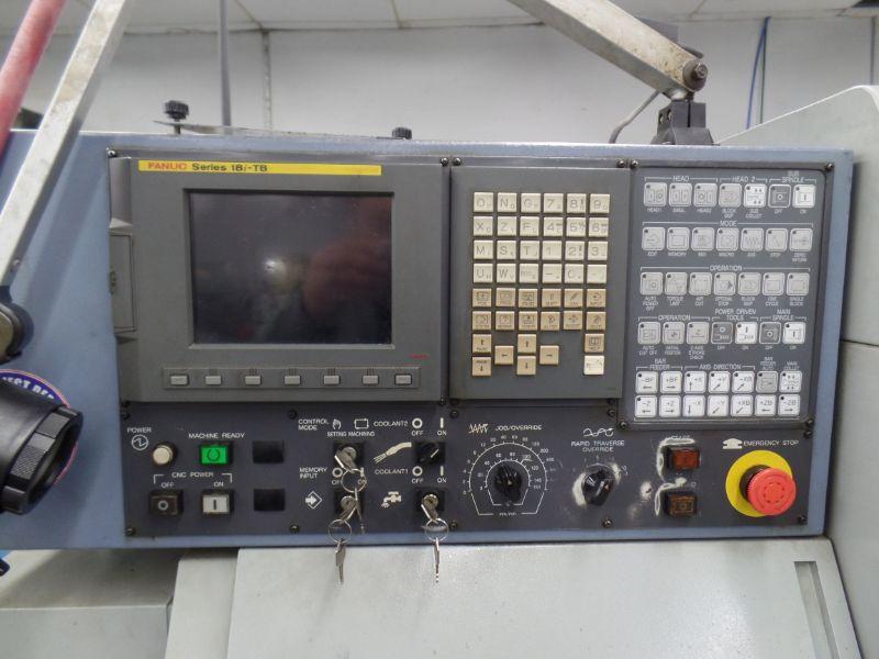 Star SB-16 Type-D CNC Swiss Type Automatic Lathe, Fanuc 18i-TB Control, s/n 0485, New 2007 - Image 4 of 8