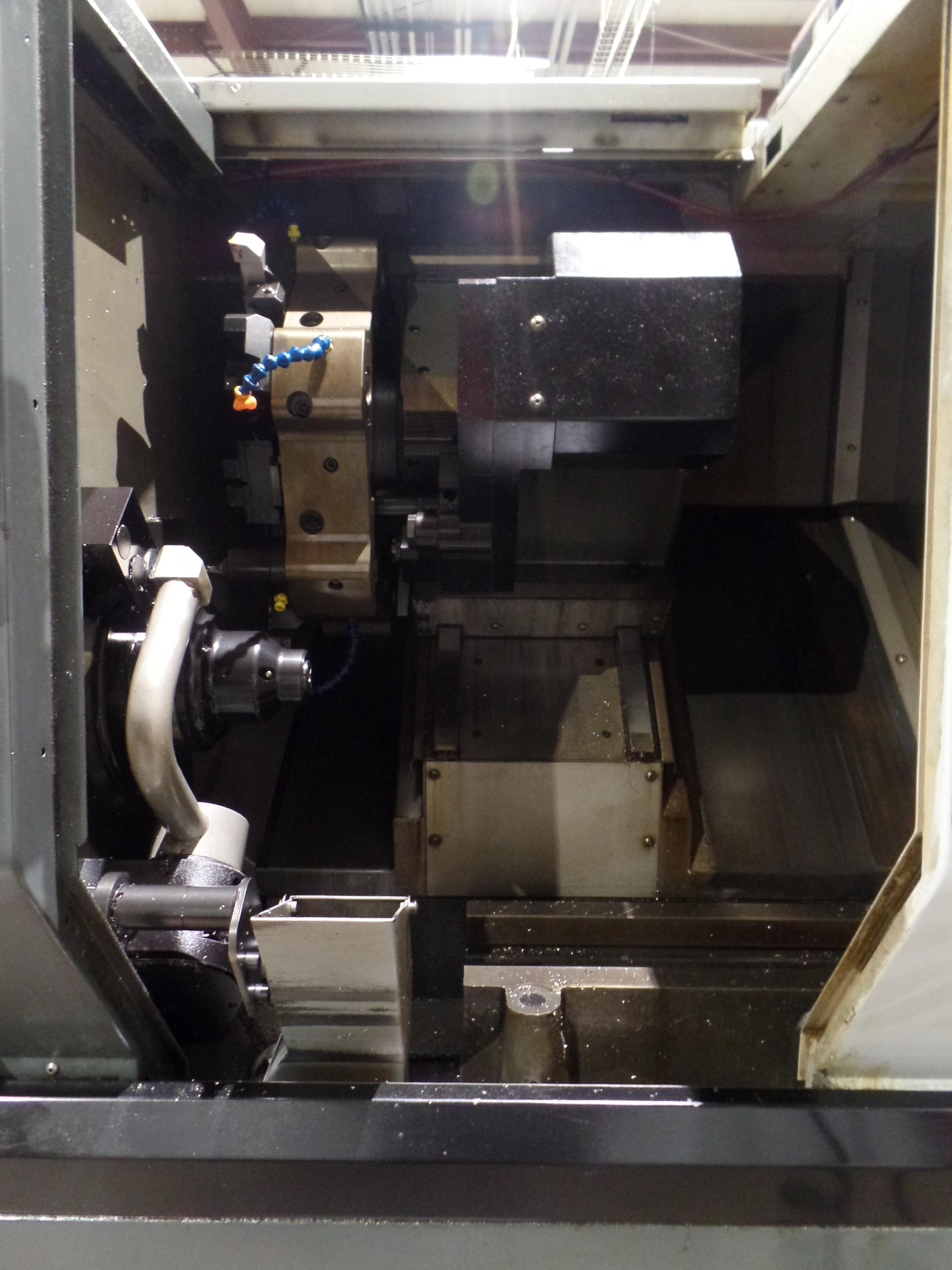 "Haas ST-10 CNC Turning Center, 25.25"" Swing, 16.5"" Length, 1.75"" Bar Capacity, s/n 3094848, New 2013 - Image 4 of 5"