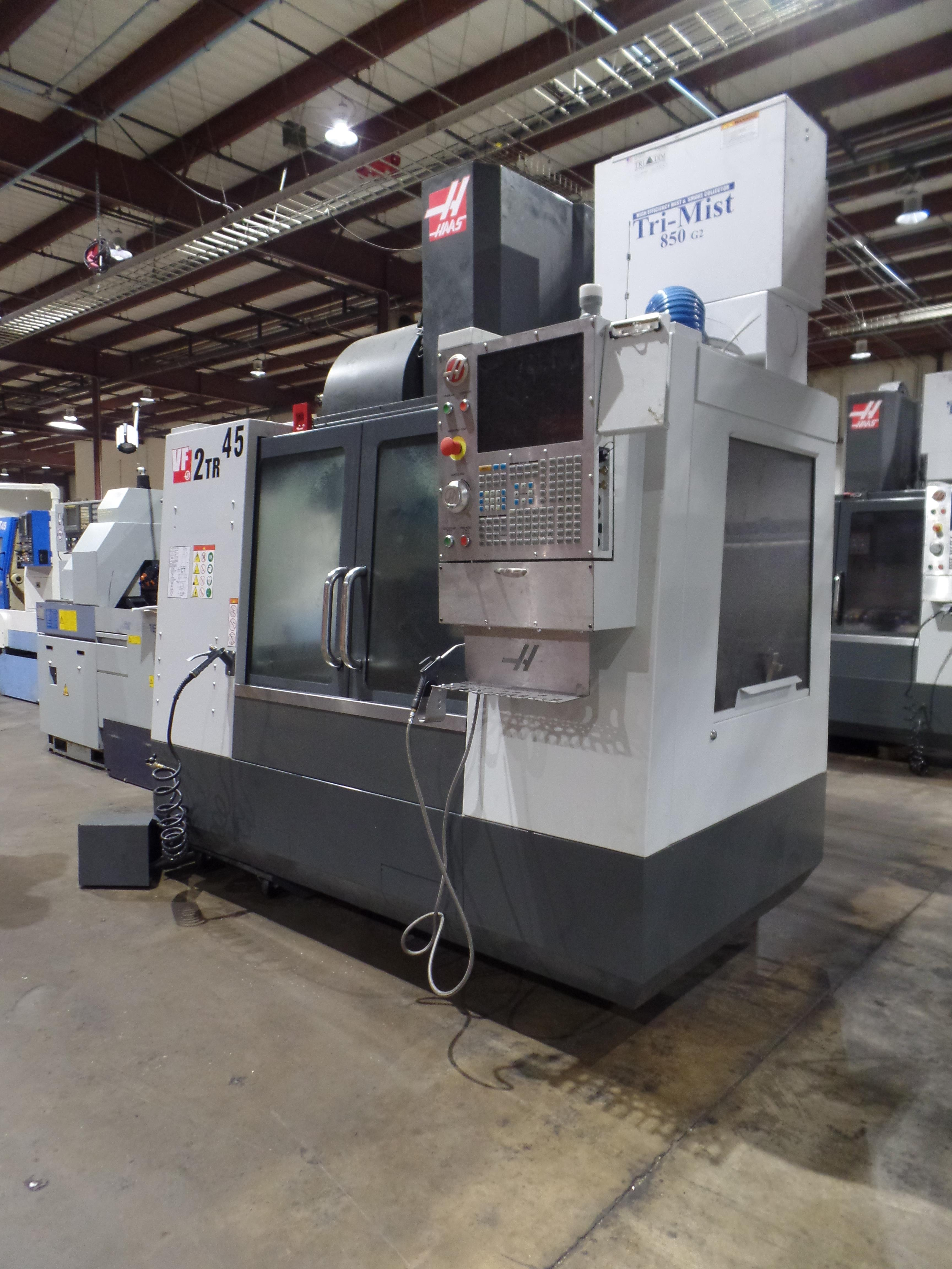 Haas VF-2 TR 5-Axis with Trunion Vertical Machining Center, Cat 40, 24 ATC, New 2017 - Image 2 of 9