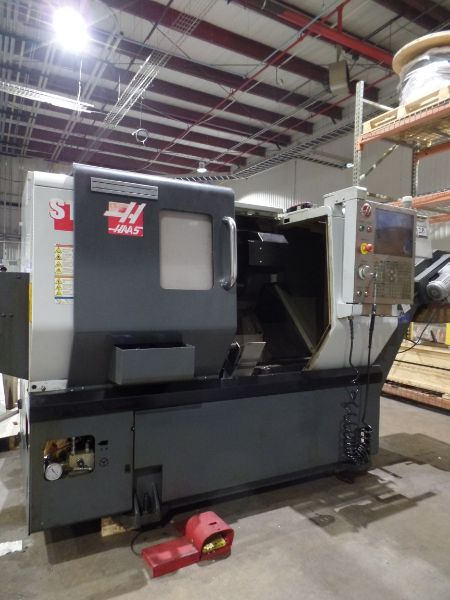 "Haas ST-10 CNC Turning Center, 25.25"" Swing, 16.5"" Length, 1.75"" Bar Capacity, s/n 3094848, New 2013 - Image 2 of 5"