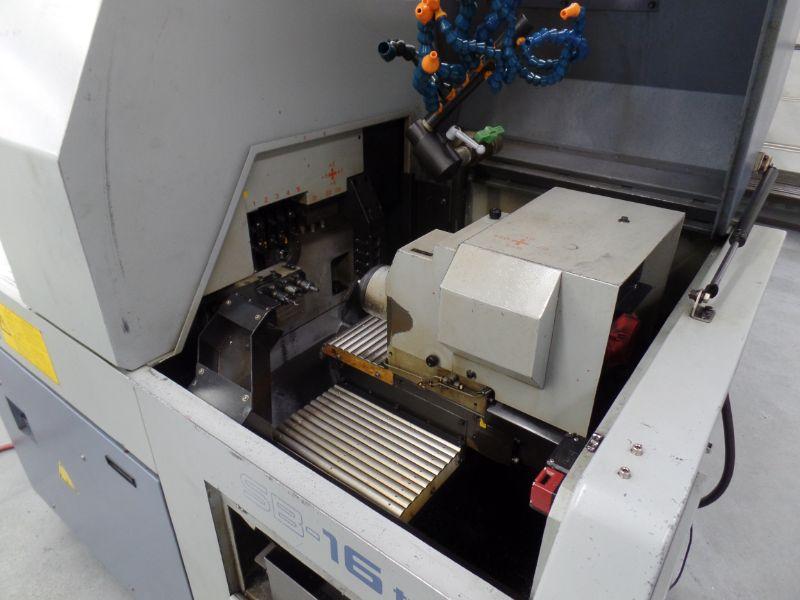Star SB-16 Type-D CNC Swiss Type Automatic Lathe, Fanuc 18i-TB Control, s/n 0485, New 2007 - Image 5 of 8