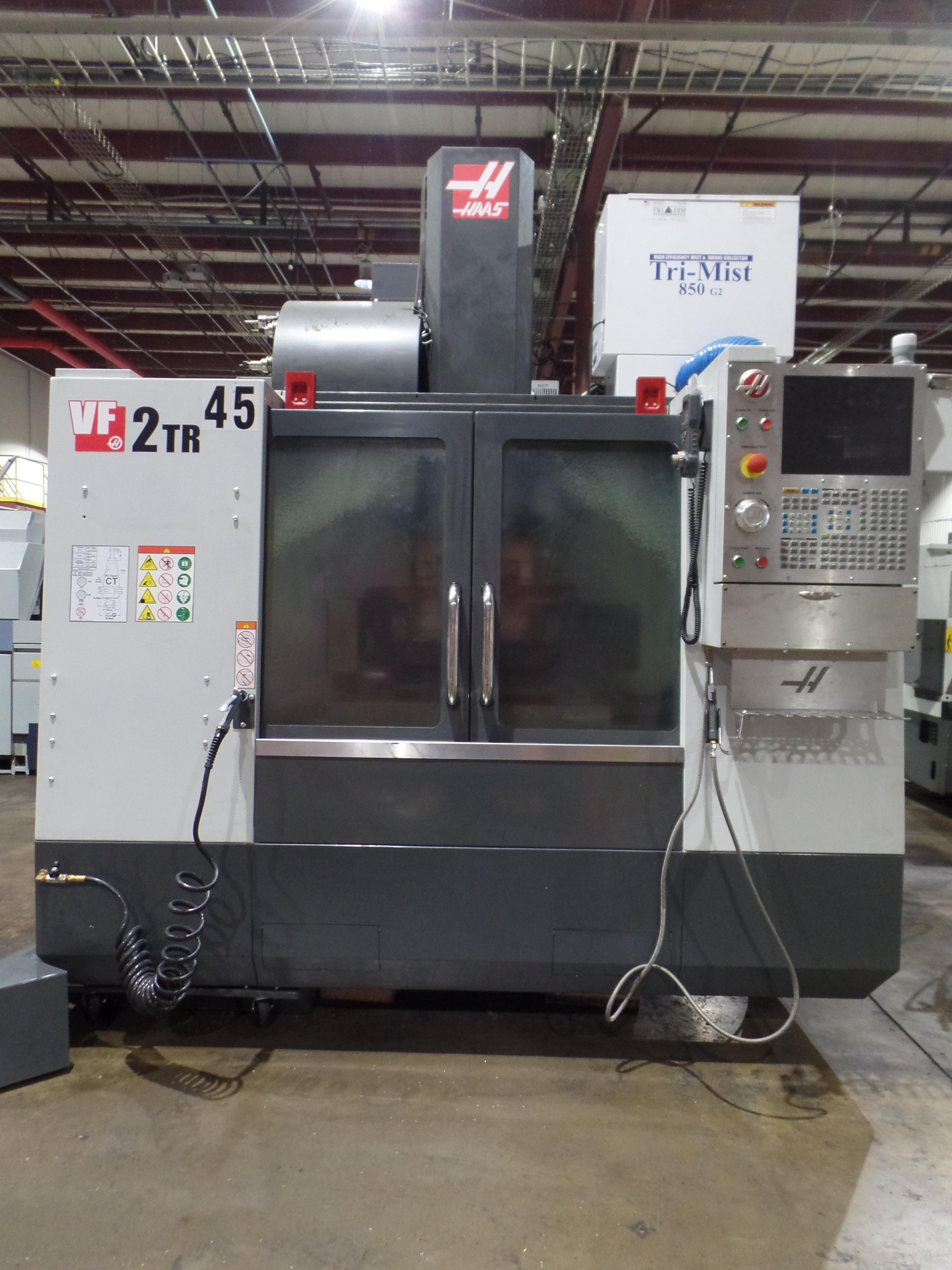 Haas VF-2 TR 5-Axis with Trunion Vertical Machining Center, Cat 40, 24 ATC, New 2017