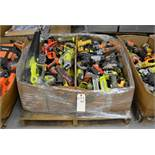 Power Tools. Assorted Brands. Ryobi + Ridgid + Dewalt + Milwaukee. Contents of Pallet
