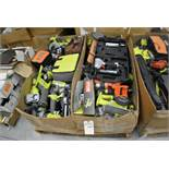 Power Tools. Assorted Brands. Ryobi + Ridgid + Dewalt + Black and Decker. Contents of Pallet