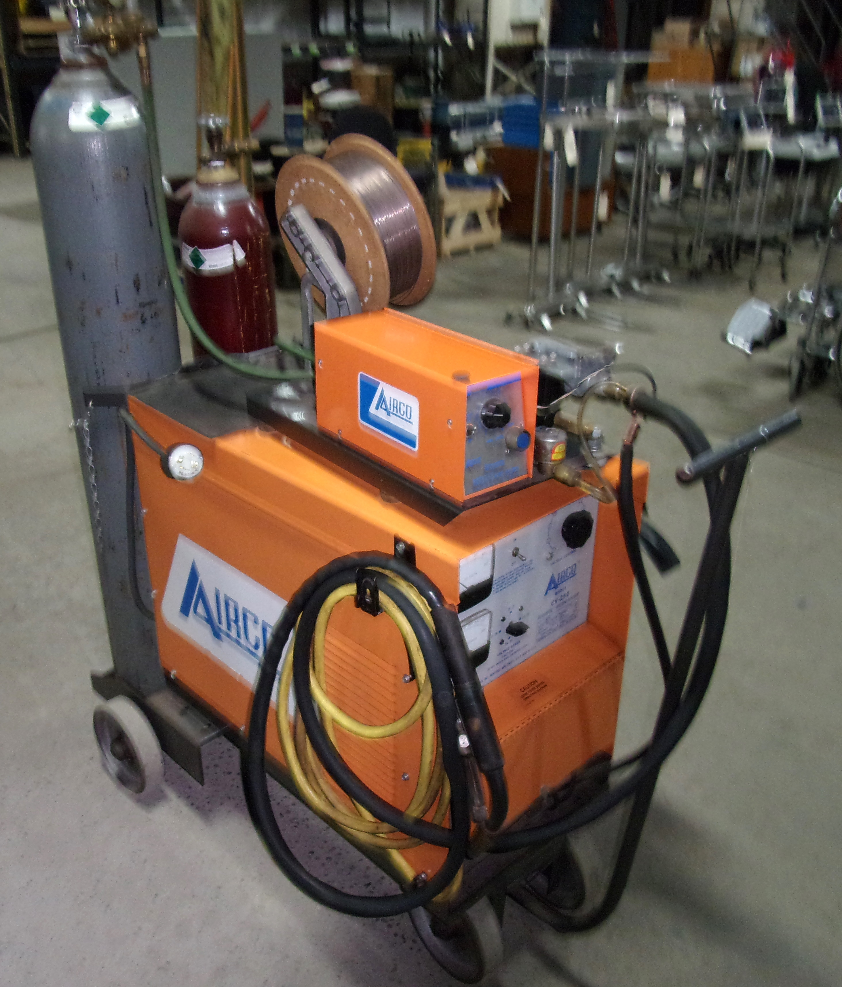 Lot 592A - AIRCO WIRE FEED WELDER, MODEL CV250, 250-AMP , S