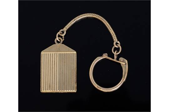 Rolls royce pendant by dunhill the reverse with monogram 9ct gold aloadofball Choice Image