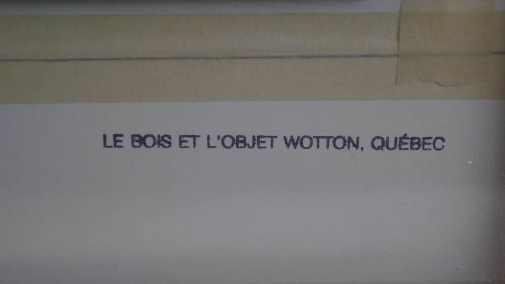 Lot 56 - Le Bois Et L'object Wotton Quebec Carved Wood Golfer Signed.