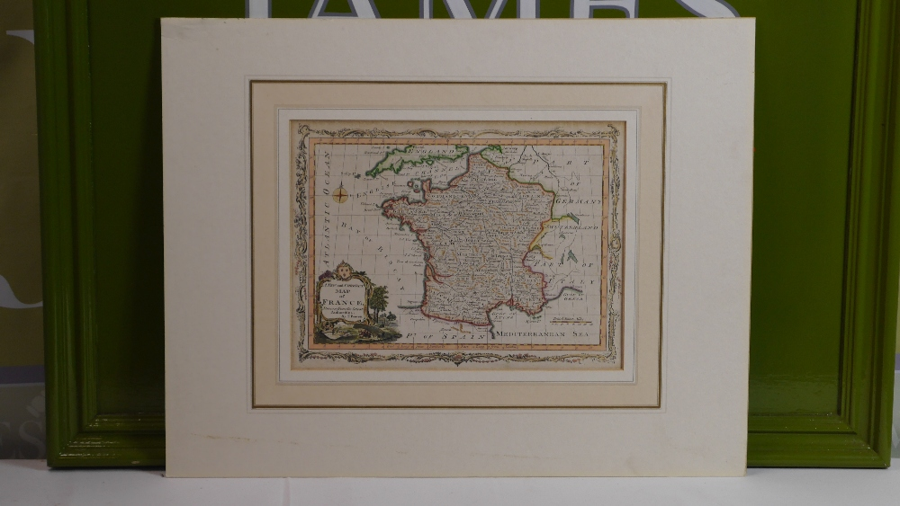 Lot 57 - Thomas Bowen (1732 - 1790) Early Map of France