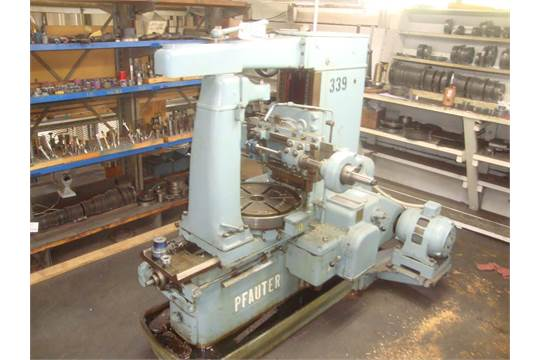 Pfauter 18 Universial Worm Gear Hobber, Swing 15