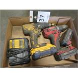 Milwaukee and DeWalt Cordless Drills (2)