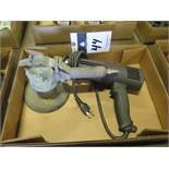 Pneumatic Orbital Sander and Heat Gun