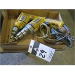 DeWalt Electric Drills (2)