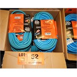 LOT/ EXTREME WEATHER EXTENSION CORDS