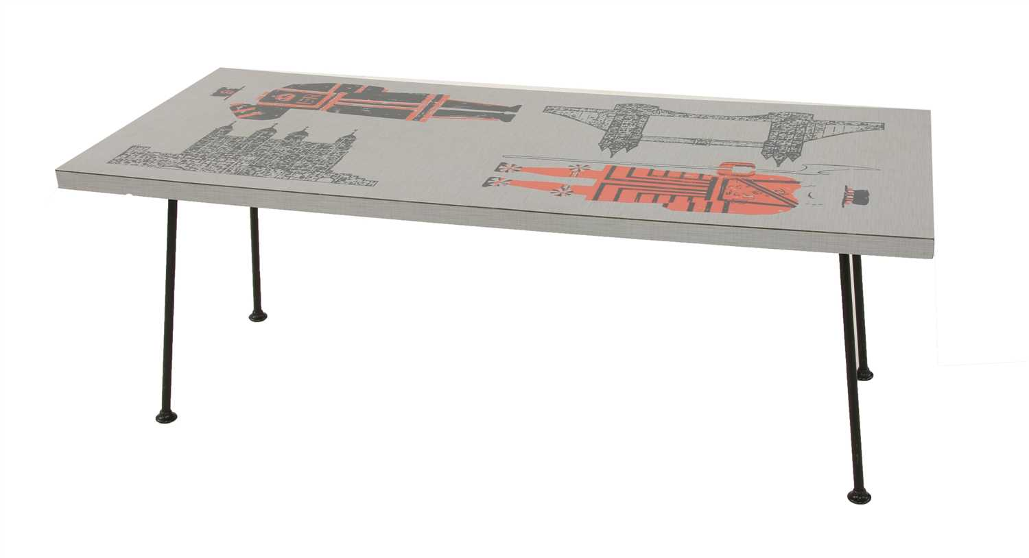 A London coffee table,