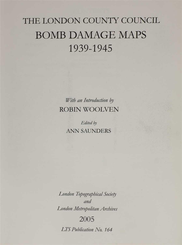 BOMB DAMAGE MAPS, - Image 2 of 2