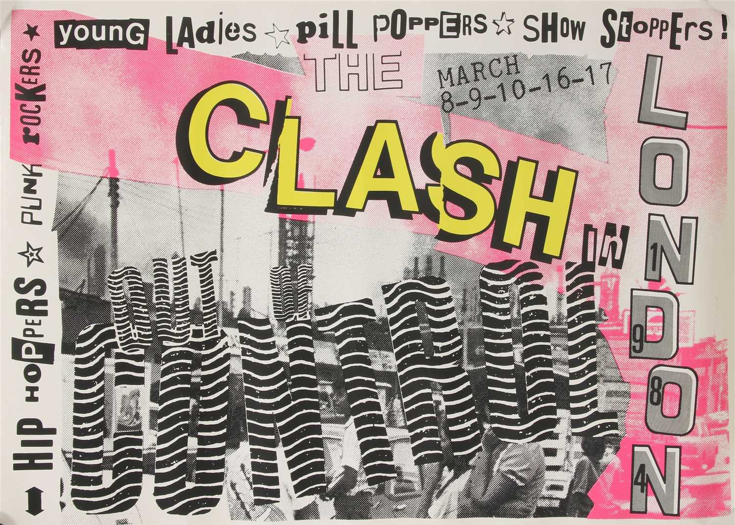 Lot 35 - 'THE CLASH: IN LONDON'