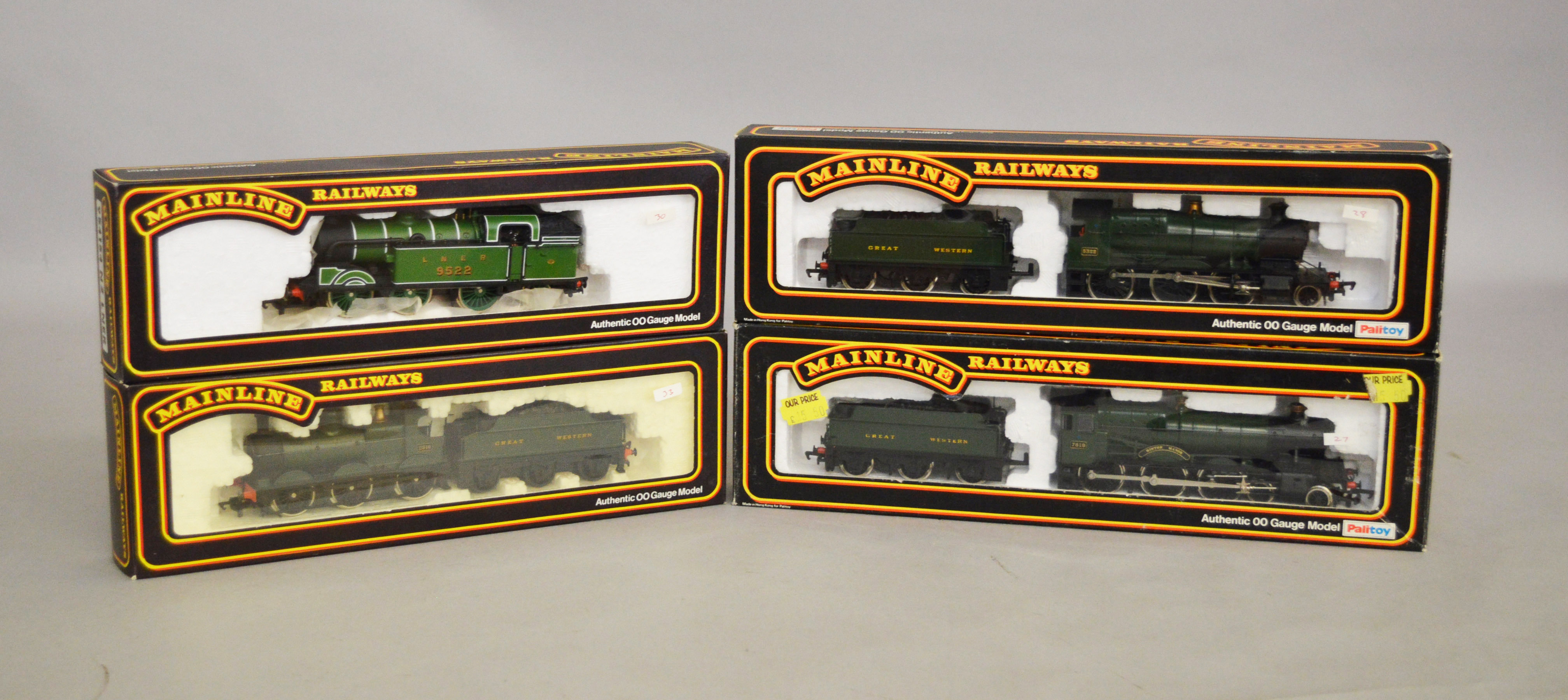 Lot 21 - OO gauge.