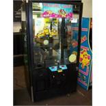 "42"" ICE TREASURE CHEST PLUSH CLAW CRANE MACHINE"