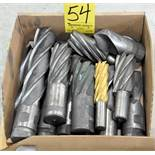Lot-Single End Mills in (1) Box