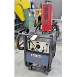 Miller Dialarc HF, 250-Amp Capacity AC/DC Tig Welder, s/n HH083064, with Magnum Model 10 Cooler,