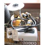 LOT OF CABLES & DISPENSERS