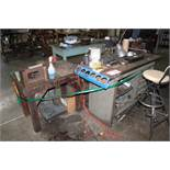 Table & Contents: Collets, Tool Holders, Hold Downs, Machine Parts & Pieces, Etc.