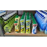32 off assorted bottles of Cif multipurpose & other creams. IMPORTANT – DO NOT BID BEFORE READING