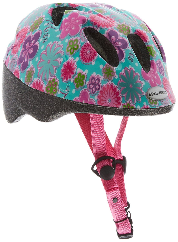 Lot 60 - Raleigh Children Girl's Rascal Miss Cycle Helmet-Green, 44-50 cm