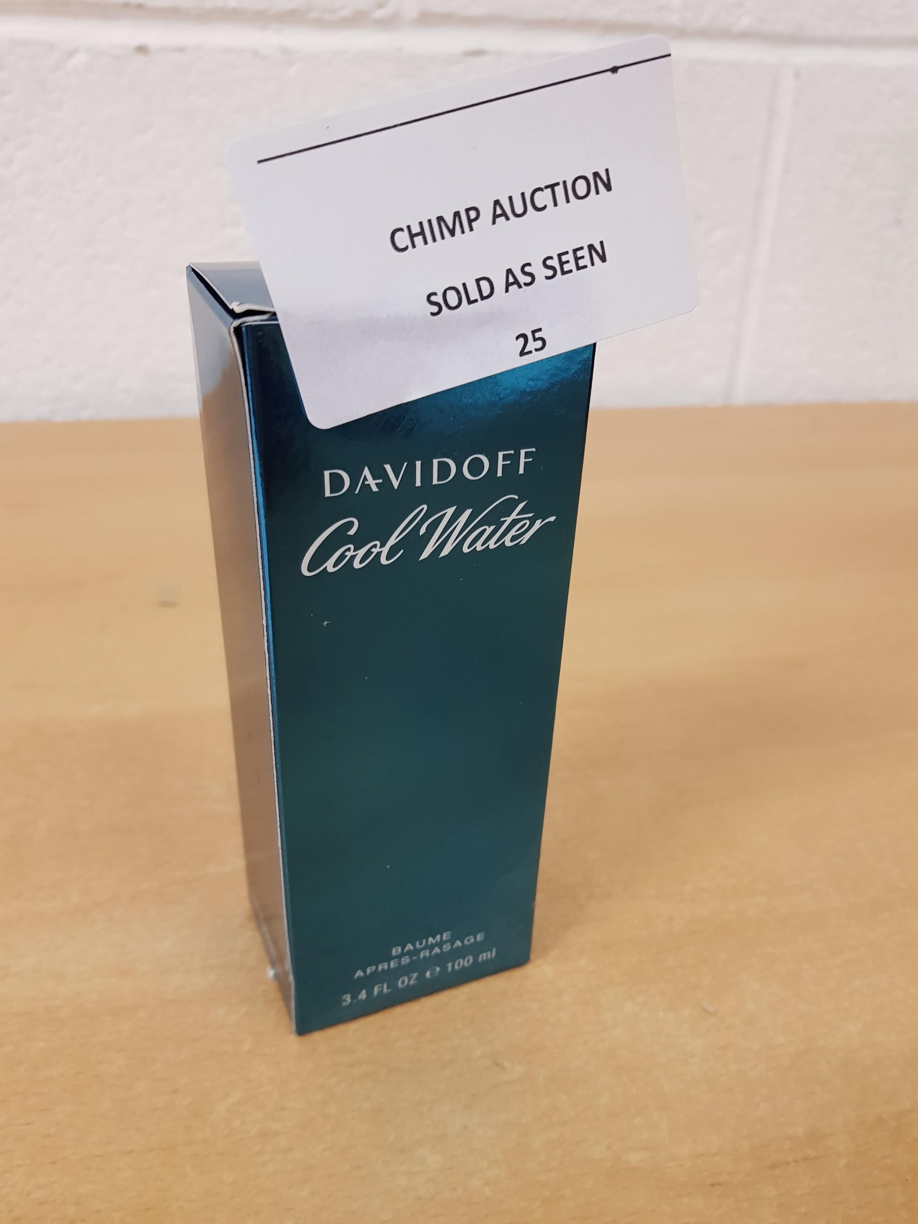 Lot 25 - Davidoff Coolwater Men Aftershave Balm, 100 ml