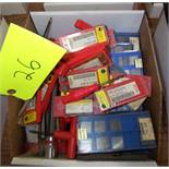 LOT OF ASSORTED INSERTS