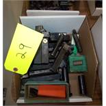 LOT OF ASSORTED INSERT TOOL HOLDERS