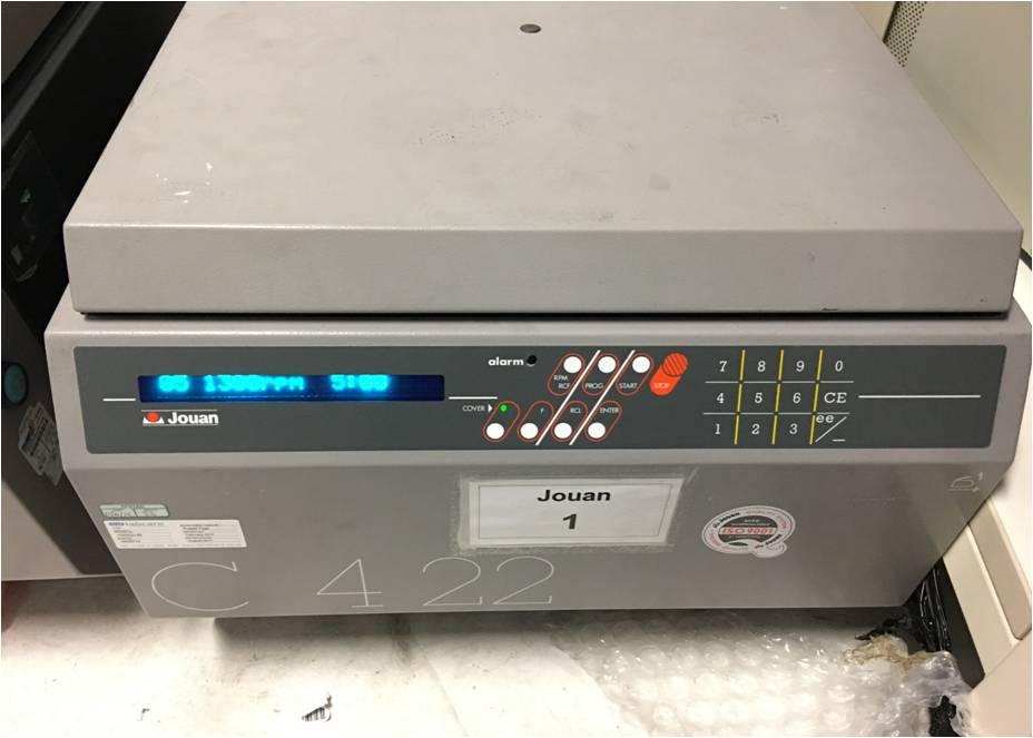 Lot 3 - *Jouan C422 Laboratory Centrifuge