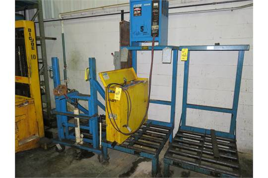 Battery Handling Equipment : Battery handling systems dual charging station