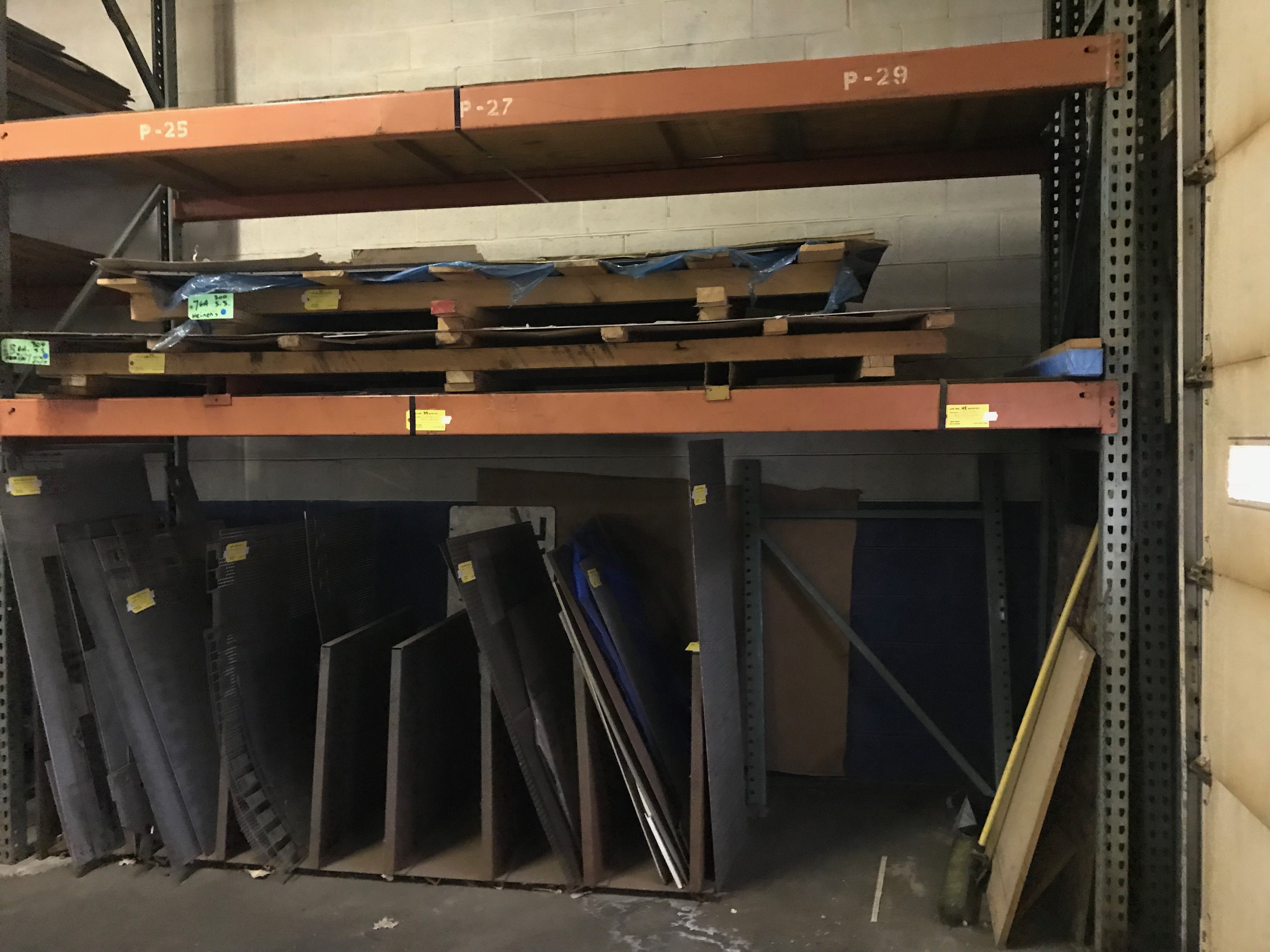 Lot 44 - 7 Sections of Pallet Racking