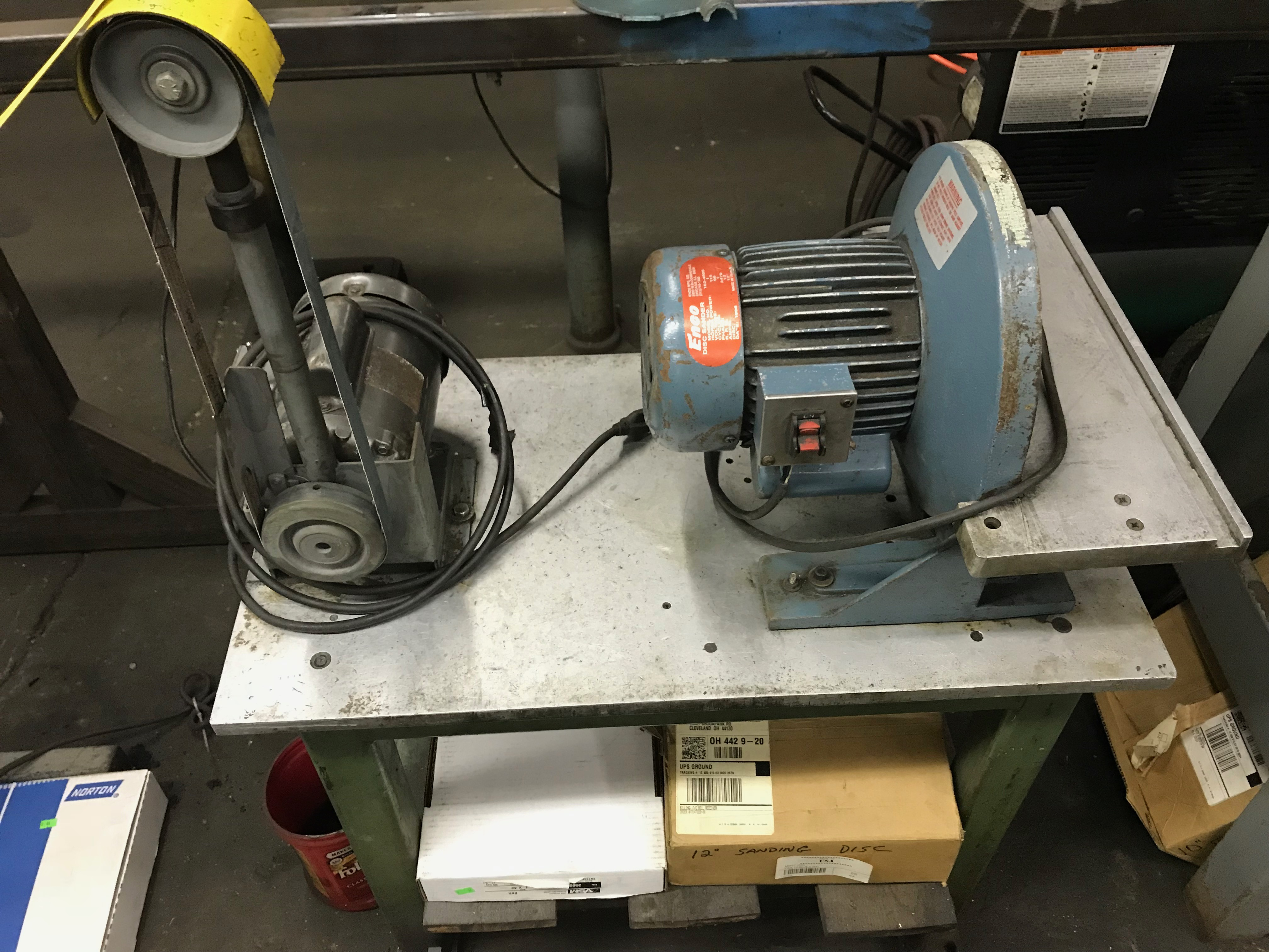 Lot 35 - Belt & Disc Sander
