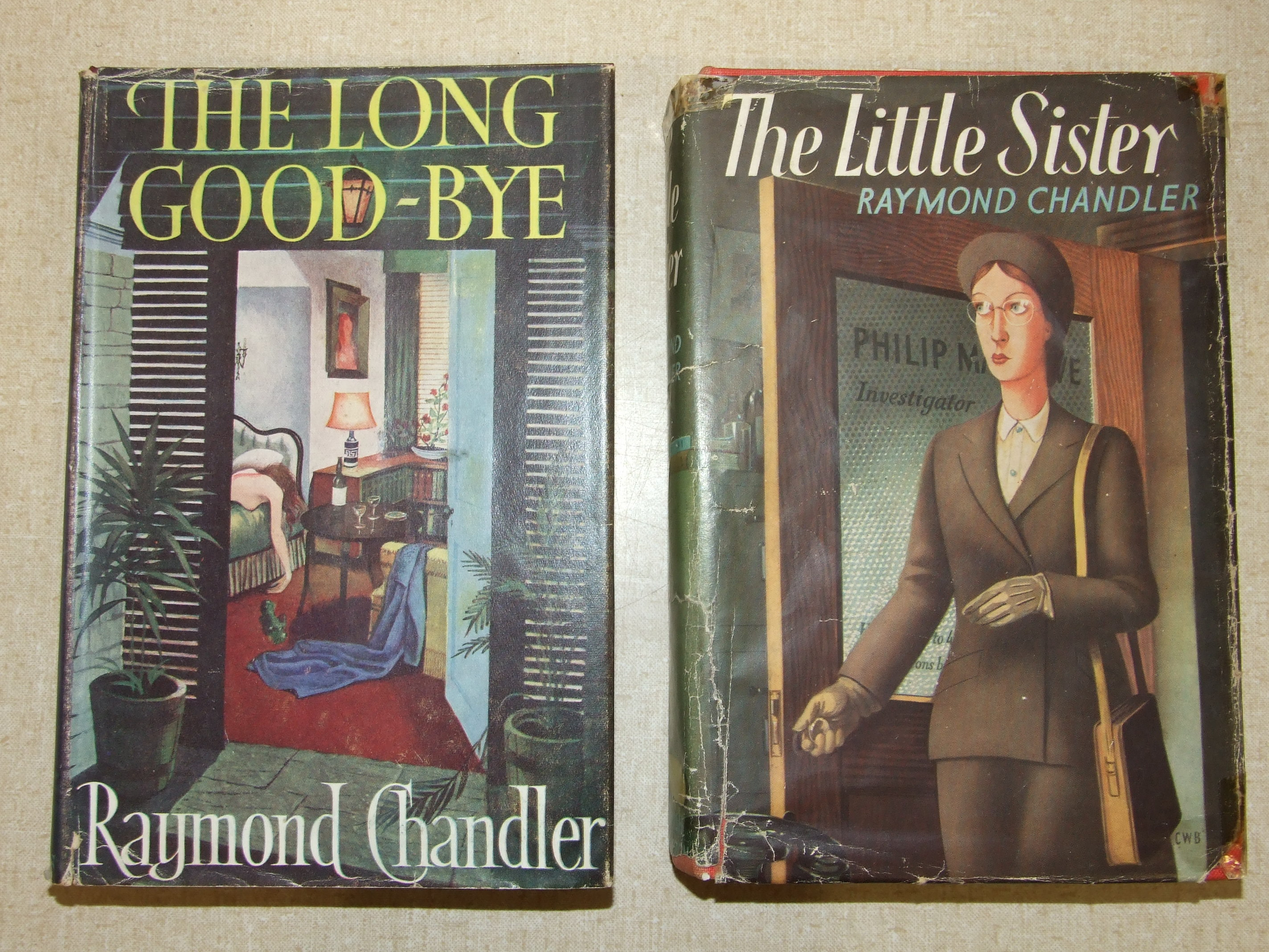 Lot 1 - Chandler (Raymond), The Little Sister, 1st Edn, dwrp (Sellotaped, not price-clipped), 8vo, 1949; The