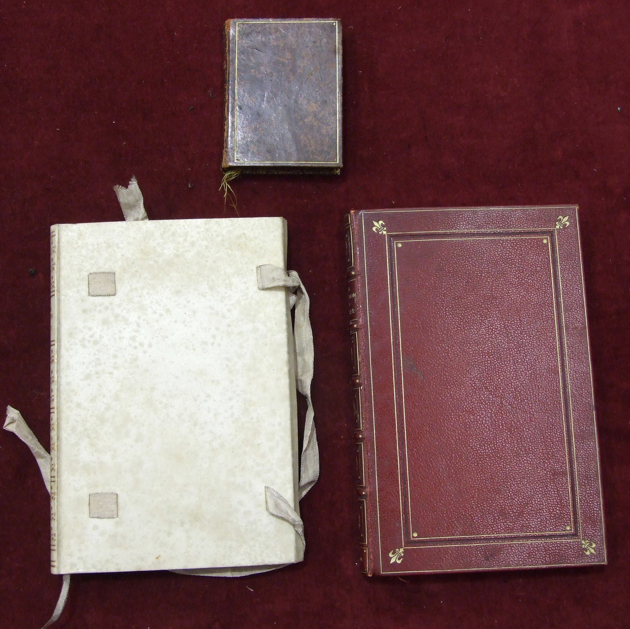 Lot 26 - Bindings, a small volume of 'Of The Imitation of Christ' by Thomas À Kempis, 1906, etc.