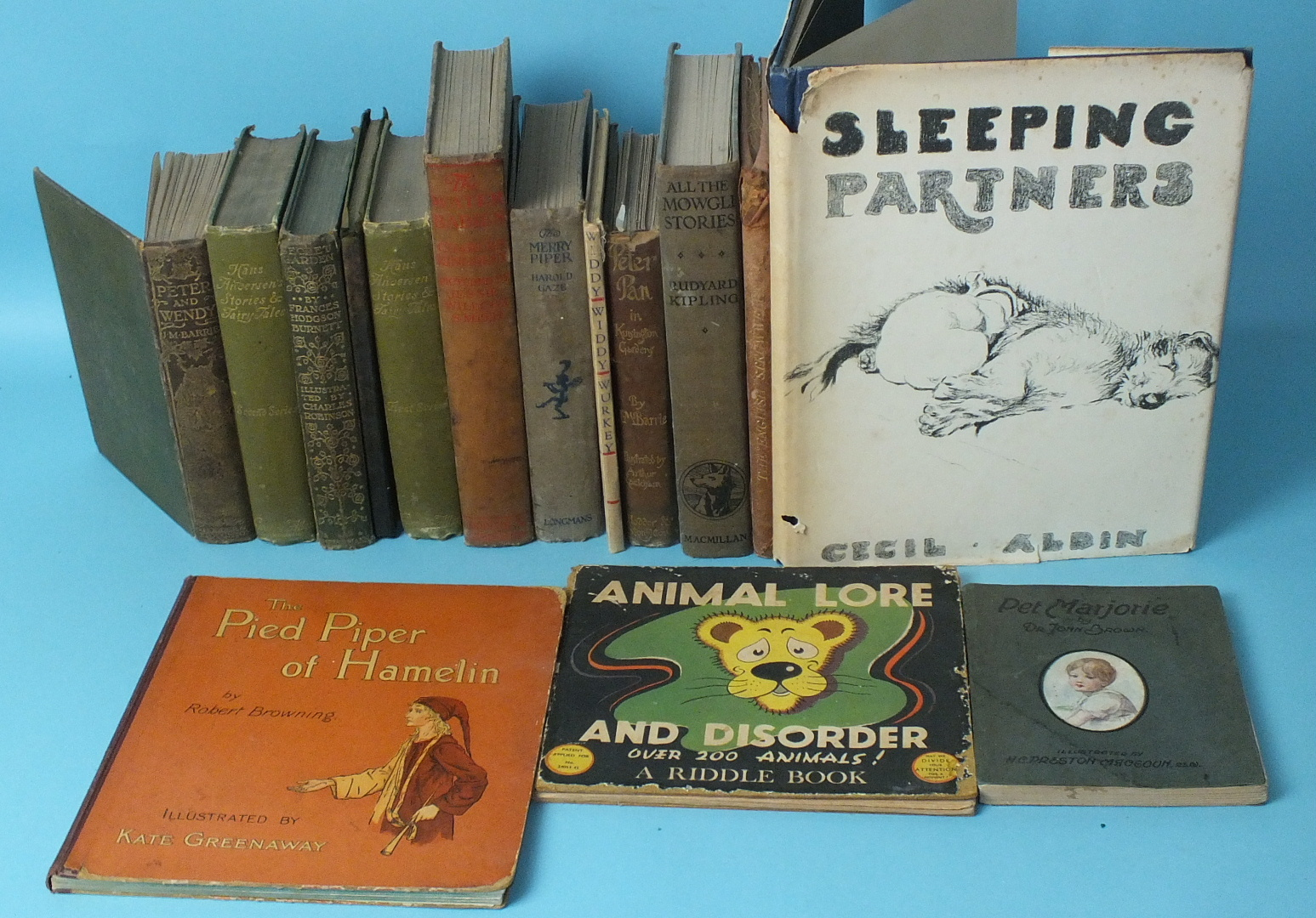 Lot 16 - Aldin (Cecil), Sleeping Partners, A Series of Episodes, 2nd imp, plts, dwrp, cl, 4to, 1930 and other