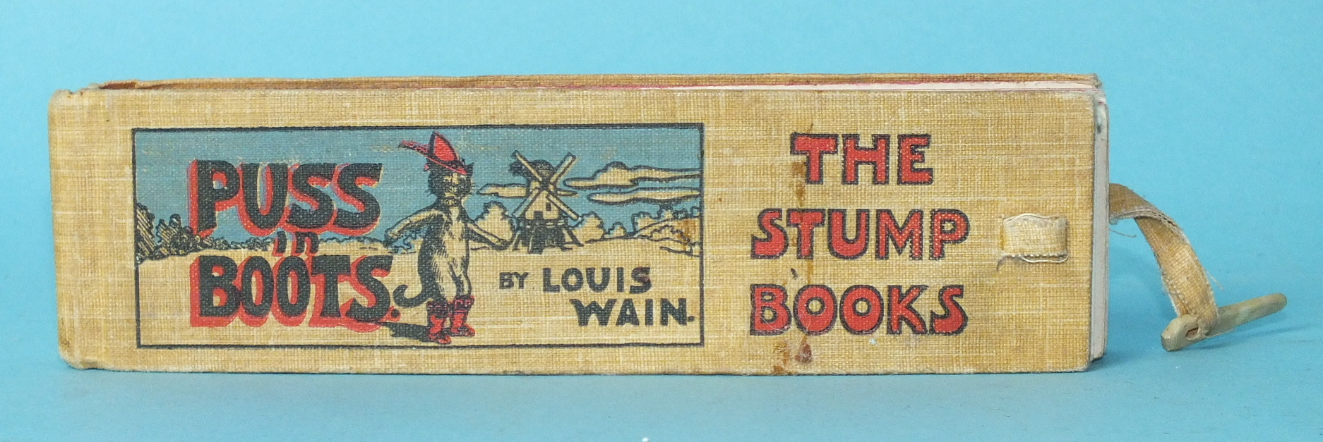 "Lot 22 - Wain (Louis), Puss in Boots, ""The Stump Books"", 15 col plts with separate text plts, pic cl gt, with"