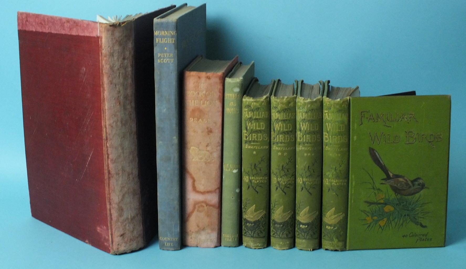 Lot 6 - Swaysland (W), Familiar Wild Birds, 4 vols, col plts by Archibald Thorburn, ge, pic cl gt, 8vo,