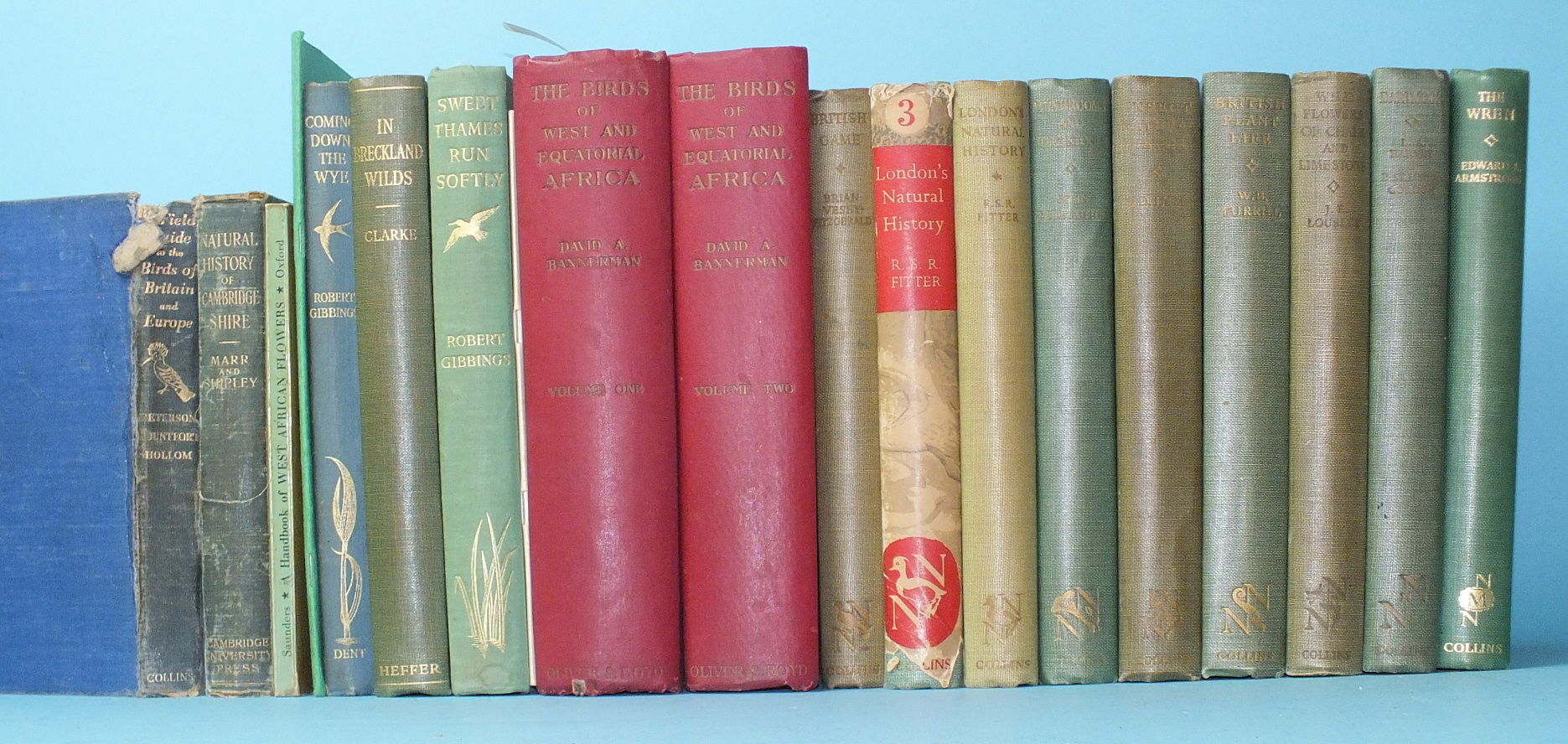 Lot 20 - Bannerman (David Armitage), The Birds of West and Equatorial Africa, 2 vols, plts, illus, cl gt,