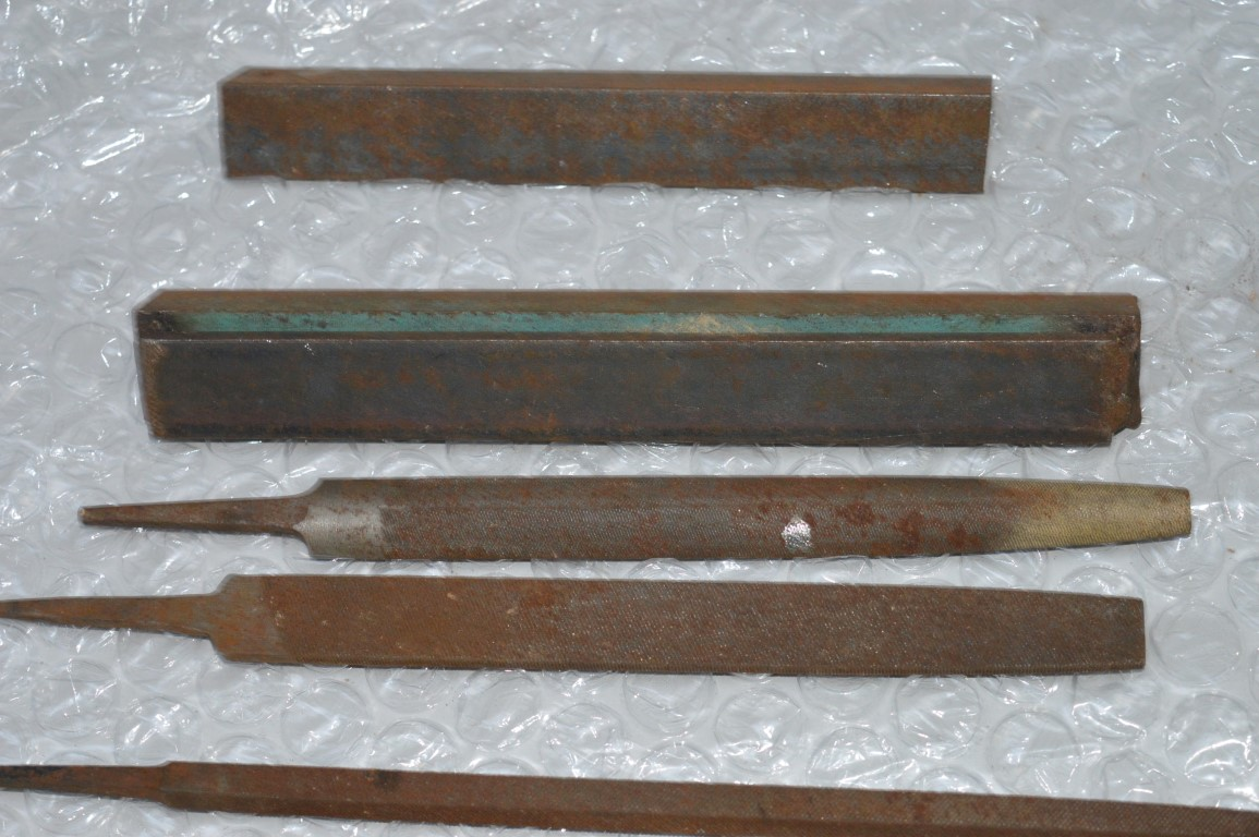 1 x assorted lot of vintage tools files rods and more includes more than. Black Bedroom Furniture Sets. Home Design Ideas