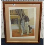 Lot 045 - Nigel Hemming, signed Limited Edition print 'Anticipation' 179850.