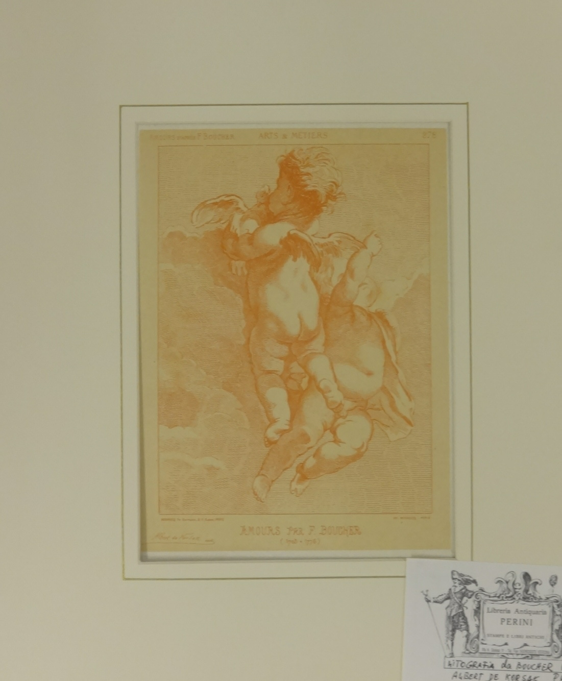 Lot 52 - W.R.Flint, unsigned limited edition print 'Cecilia & Joanna', from an edition of 650, mounted,